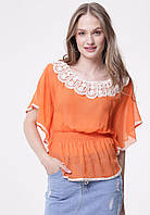 b8fb3679f94 Блузка Оранжевая — Купить Недорого у Проверенных Продавцов на Bigl.ua