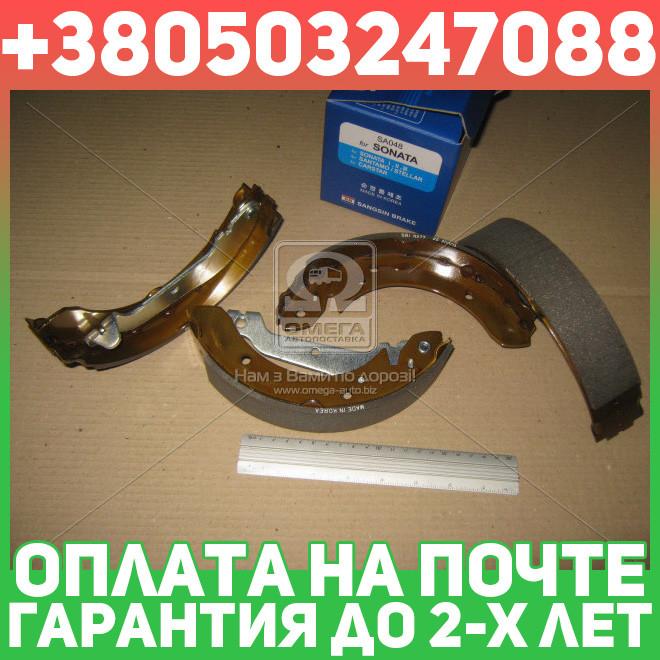 ⭐⭐⭐⭐⭐ Колодка торм.  барабанная  HYUNDAI SONATA -98 задняя (пр-во SANGSIN)