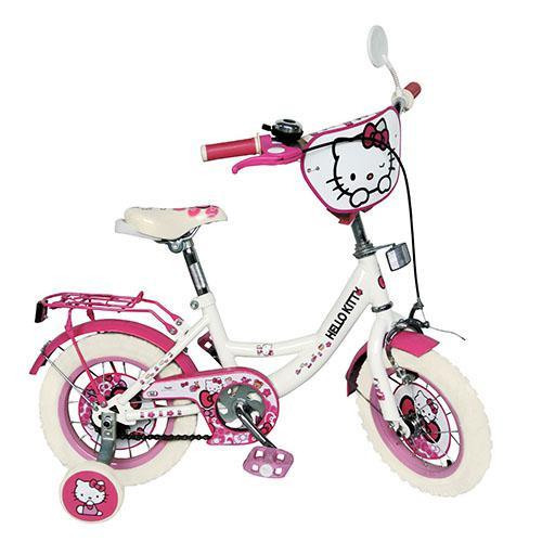 "Hello Kitty (Хелло Китти) HK0074 w 12"" белые колеса Лицензия"