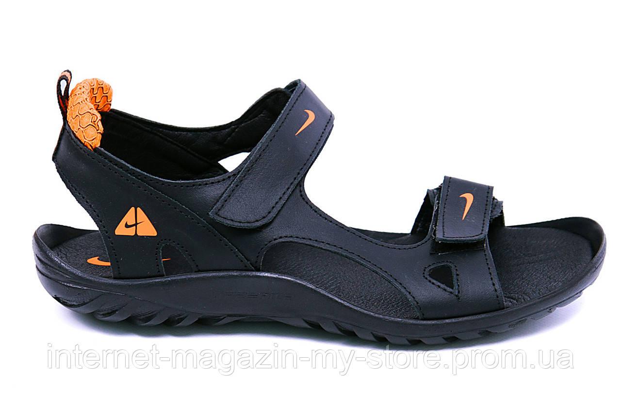 Мужские  кожаные  сандалии ,шлепанцы