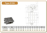 Фрезерный стол 5150-200Х250 синусный