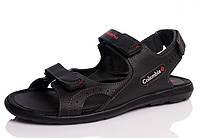 Мужские  кожаные  сандалии ,шлепанцы , фото 1