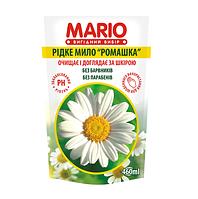 """Крем-мыло """"Марио"""" 0,46л.Ромашка дой-пак. (20шт. / Уп.)"""