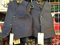 Костюм классика-жилет и брюки для мальчика (98-110р)