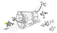 Выжимной подшипник сцепления Mercedes-Benz Vito 639, Sprinter, VW Crafter. ZA3608.3.2/ 510003510/ A0002542508