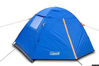 Палатка туристическая двухместная Coleman 1001 двухслойная, фото 3