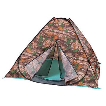 Палатка-автомат туристическая двухместная HX-8135 камуфляж, фото 2