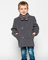 """Детское весеннее, осеннее, демисезонное кашемировое пальто для мальчика """"Микки"""""""