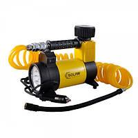 Автомобильный компрессор с  LED фонарем SOLAR AR 212 12v\15А\40 л\180Вт\ витой шланг 5 м, фото 1