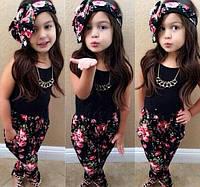 Модный костюм летний для девочки