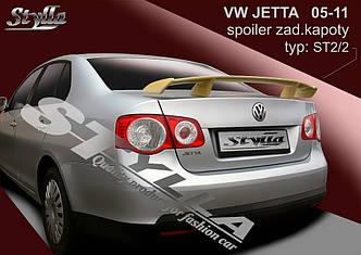 Спойлер тюнинг Volkswagen Jetta