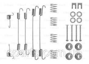 Ремкомплект задніх гальмівних колодок D-228.6 мм Dacia Logan MCV (Bosch 1987475253)(висока якість)