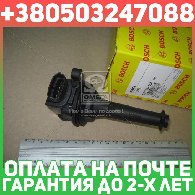 ⭐⭐⭐⭐⭐ Катушка зажигания (производство  Bosch) ВОЛЬВО,XЦ70,XЦ90  1,В70  1,В70  2,С60  1,С70,С80  1,Ц70  1, 0 221 604 008