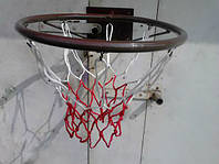 Баскетбольное кольцо «Джордан» красный цвет (спортивный инвентарь, товары, лестница, кольца, турник)