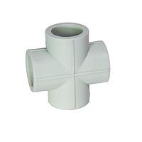Крестовина PPR 25 240/24 GRE Aqua Pipe