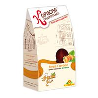 """Шоколадные конфеты с курагой и орехами """"Корисна Кондитерська"""" без сахара, 150 г"""