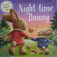 Книга на английском языке для детей Night-Time Bunny