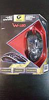 Мышь Gemix W-120 USB Black