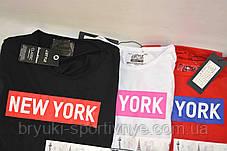 Футболка мужская с коротким рукавом и принтом New York M - XXL, фото 3