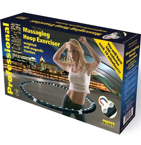 Обpучмассажный магнитныйMassaging Hoop Exerciser
