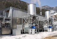 Конвейерная ленточная сушилка для опилок, пеллетов, щепы и другой биомассы