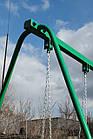 Гойдалки двомісні на ланцюгах, для всієї сім'ї., фото 7