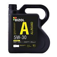 Синтетическое моторное масло  BIZOL Allround 5W-30 4л