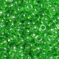 Бісер Preciosa Чехія №56430 зелений, глазурований