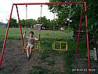 Качели двухместные на цепях, для всей семьи., фото 6