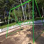 Качели двухместные на цепях, для всей семьи., фото 4