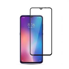 Защитное стекло 9D на весь экран (на пластине) для Xiaomi Mi 9 цвет Черный
