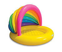 Детский надувной бассейн Ракушка Intex 57420 (155 х 135 х 104 см), фото 1