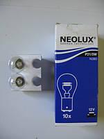 Автомобильная лампа накаливания двух контактная NEOLUX  P21/5W  N380