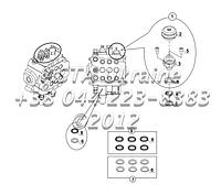 Загрузочный узел и уплотнение комплект, погрузчик блок управления Е2-1-3