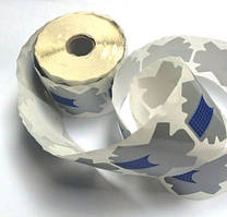 Формы для наращивания ногтей (синие), 100 шт.
