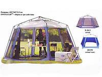Шатер тент Coleman Х-2013W шестиугольный устойчивый стены - москитка и водоотталкивающая ткань