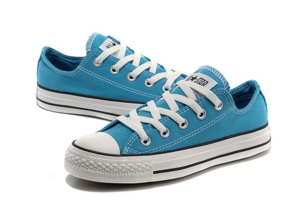 Женские кеды Converse All Star низкие голубые - Интернет магазин обуви «im -РоLLi» 9b4a10e8af4