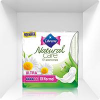 Прокладки гигиенические Libress Natural Care Ultra Normal, 4 капли, 10 шт