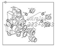 Крепления клапана управления и адаптеров Е2-3-1-ОР1