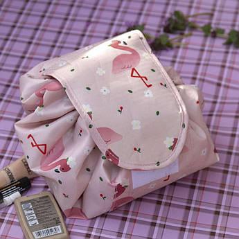Ленивая косметичка, розовая - 148487