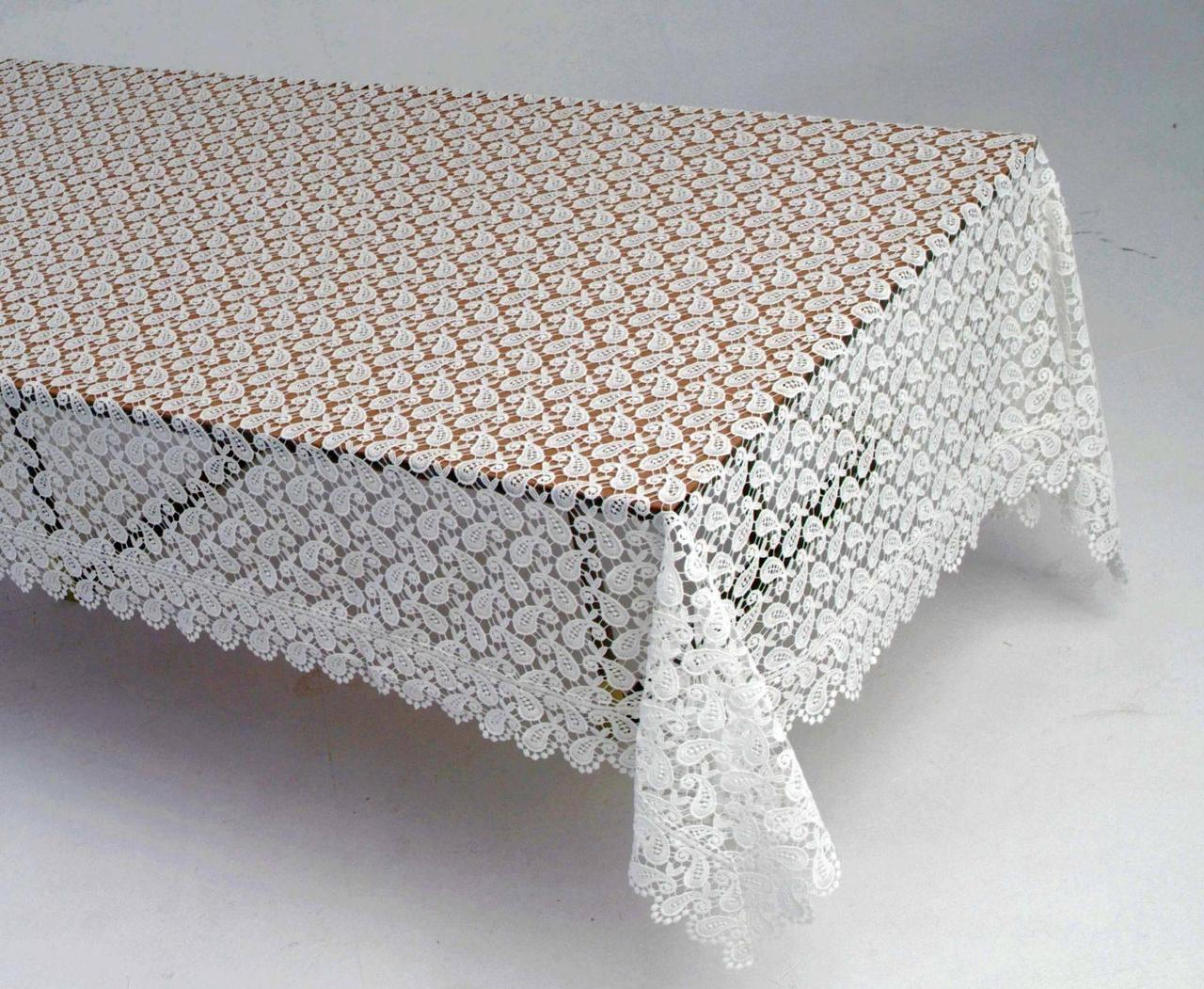 Скатерть на раздвижной стол 160*400 фирмы Ayova