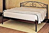 Кровать металлическая Верона - 1 / Verona - 1 односпальная 80 (Метакам) 860х2080х720 мм, фото 4