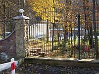 Кований забор П-11