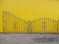 Кованый забор П-18, фото 1