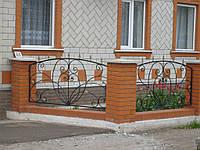 Кований забор П-19