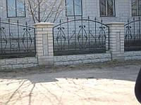 Кованый забор П-23