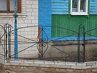 Кований забор П-24, фото 1