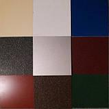 Гладкий лист стальной оцинкованный марки  DX51D - 0.45 мм с полимерным покрытием RAL глянец- RALмат Корея, фото 10