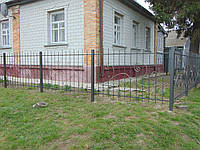 Кований забор П-32, фото 1