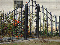 Кований забор П-33